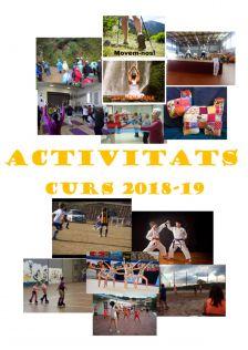 Activitats 2018-19