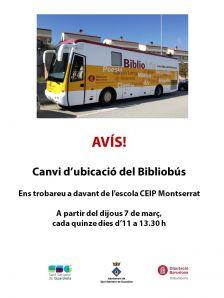 avís bibliobús