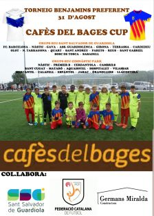 Cartell Cafès del Bages Cup 31.08