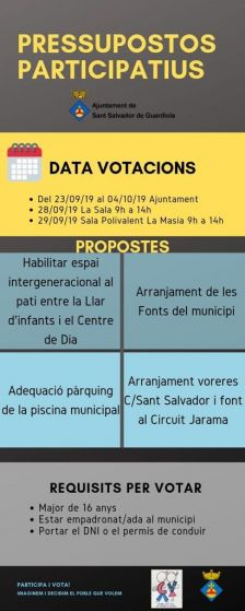 Cartell propostes i dates